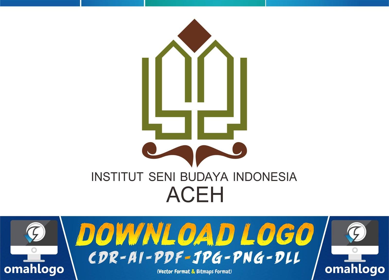 Logo Institut Seni Budaya Indonesia Isbi Aceh Omahlogotech