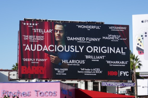 Barry season 2 FYC billboard