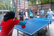 Tingkatkan Soliditas, DPC SPN Kabupaten Gelar Turnamen Tenis Meja