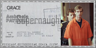 Jeffrey Dahmer's Signed Paycheck