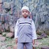 Baju muslim anak Abu-abu / fashion muslim anak