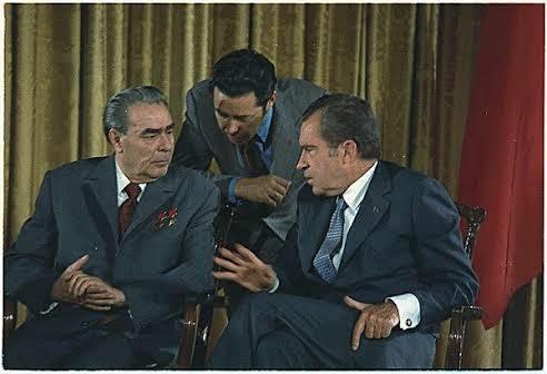 Breznev e Nixon nel 1972 93c55e3d2b8