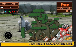 Gameplay Naruto Senki Shinobi Collection Mod Apk by Said