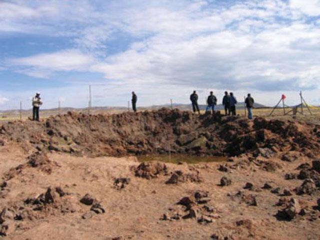 Luar angkasa dikenal sebagai tempat yang tidak memiliki batasan Misteri Carancas, Wabah Penyakit yang Ditimbulkan oleh Meteorit