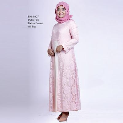 Baju Gamis Wanita Gareu BHJ 0307