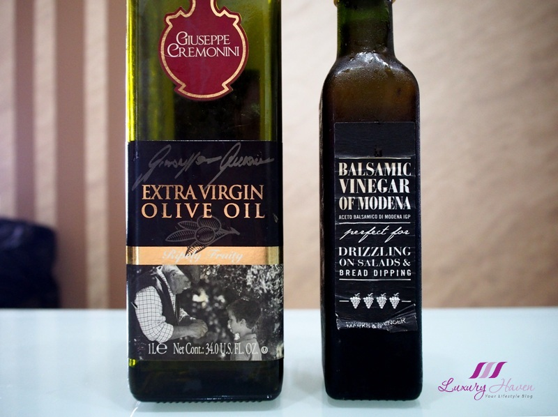 giuseppe cremonini extra virgin olive oil balsamic vinegar