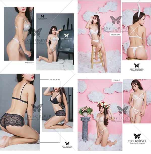 Sexy forever dam ngu va trang phuc lot handmade danh cho nhung co nang hien dai
