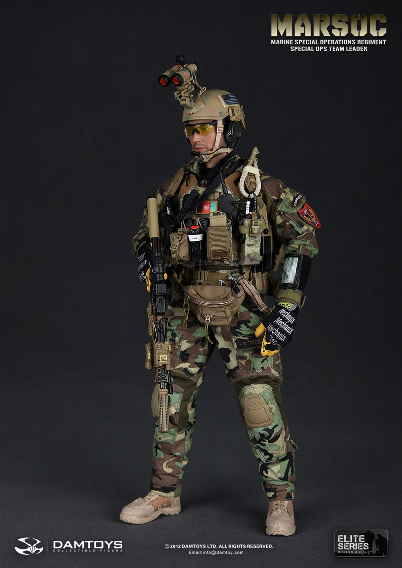 Preview Dam Toys 1 6 Marsoc Marine Special Ops Regiment