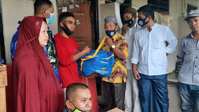 Reaksi Cepat Kadis Sosial Kota Bima, Atasi Bantuan Tanggap Darurat Korban Kebakaran Manggemaci