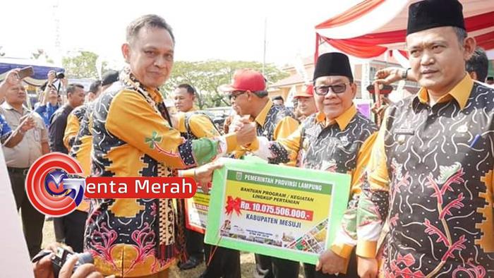 Gelar Peda KTNA Lampung, Pemkab Mesuji Terima Rp10,07 M Untuk Bidang Pertanian