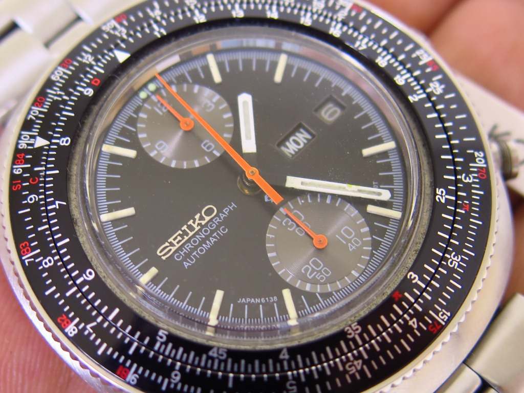 SEIKO CHRONOGRAPH CALCULATOR - AUTOMATIC 6138 7000