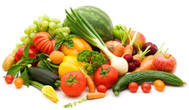 البصل، الطماطم، الملفوف، الفليفلة الحلوة، الكرفس .