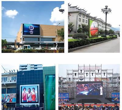 Lắp đặt thi công màn hình led p4 nhập khẩu tại Hà Nam