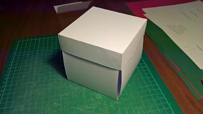 Szablon exploding box - gotowa baza