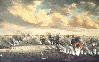 المعارك البحرية