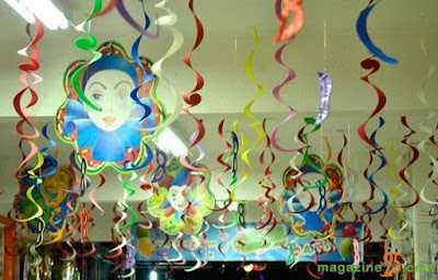 Como decorar a casa para o carnaval.