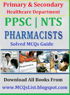 Solved Notes PPSC Pharmacist Test