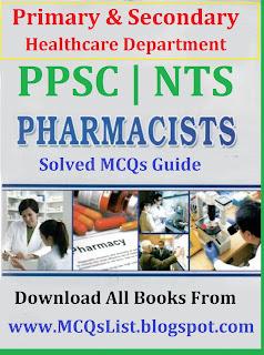 Solved Notes PPSC Pharmacist Test