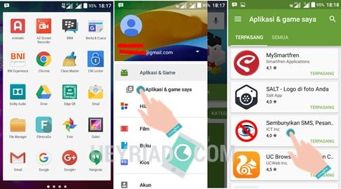 Cara Menampilkan Aplikasi Tersembunyi di Android