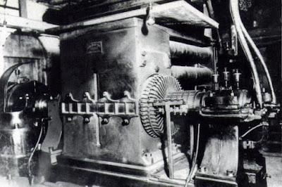 Generador Eléctrico Central Pearl Street
