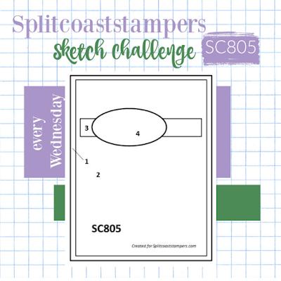 card sketch 805 splitcoaststampers stamping challenges nicole steele the joyful stamper independent stampin' up! demonstrator