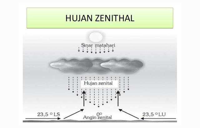 Pengertian Dan Ciri Hutan Zenithal