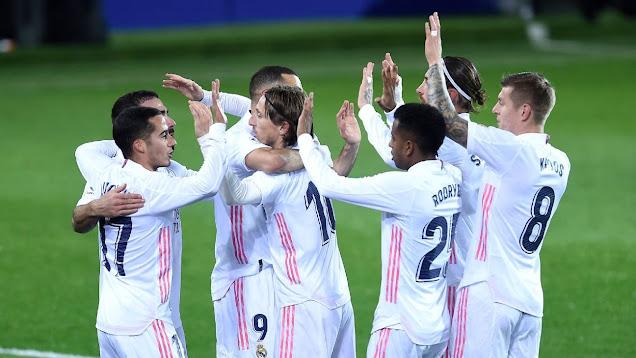ملخص مباراة ريال مدريد وايبار (3-1) اليوم في الدوري الاسباني