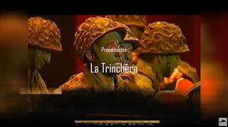 """Presentación con Letra Comparsa """"La Trinchera"""" de Antonio Martínez Ares (1996)"""