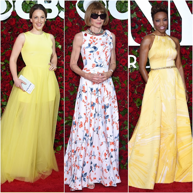 Looks lindos vestidos de festa do Tony Awards