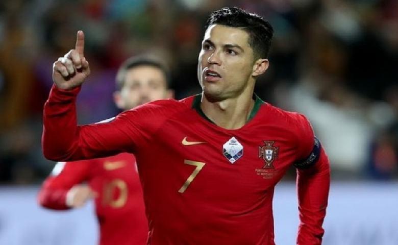 Cristiano Ronaldo Pemain Sepak Bola Profesional Portugal