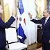 Presidente Danilo Medina juramenta a Josué Antinoe Fiallo como representante ante la (OEA).