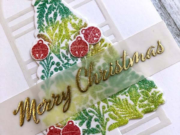 CAS Christmas - Glitter