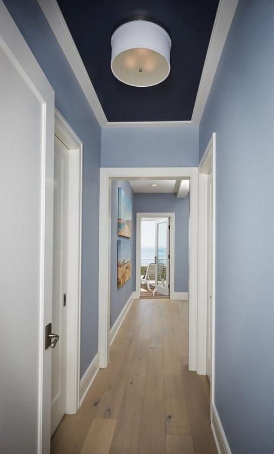 تزيين ممرات البيت الضيقة و طريقة استغلالها فى الديكور المنزلى