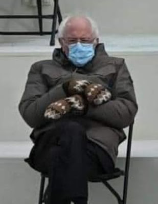 Bernie at Inauguration