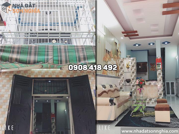 Bán nhà Gò Vấp đường Huỳnh Văn Nghệ phường 12 - 3.2x8.6m giá 2.88 tỷ