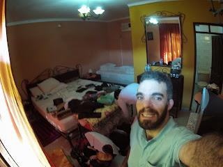 Quarto do hotel em San José de Chiquitos / Bolívia.