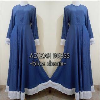 Azizah Dress Blue denim