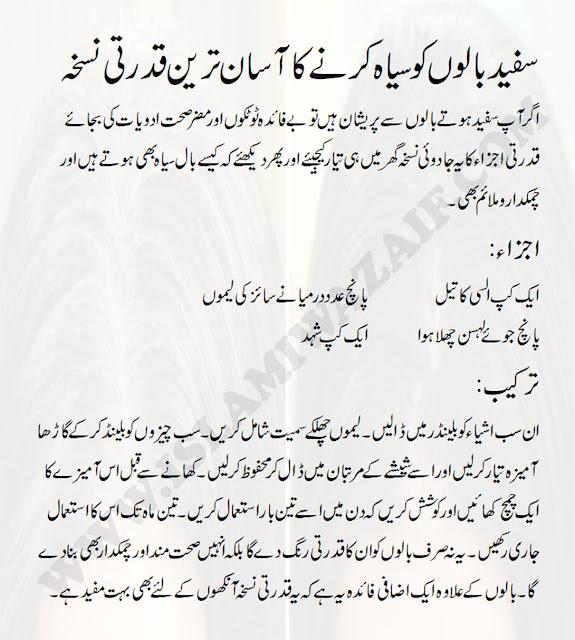 Waqt Se Pehle Safed Balon Ka Ilaj