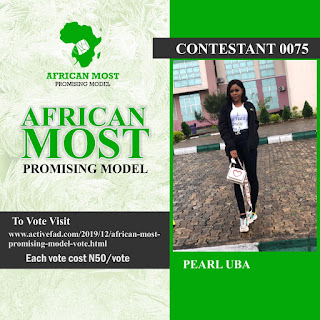 Vote African Most Promising Model 3 & 4