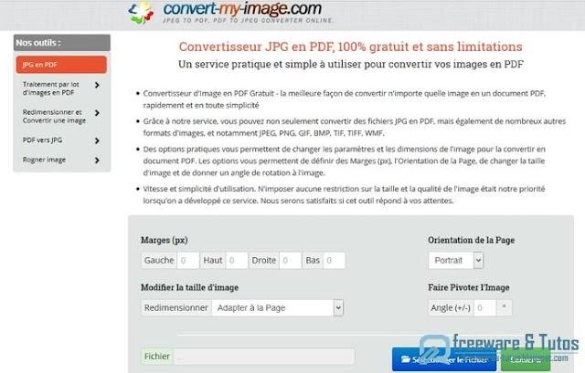 Convert-my-image : un outil en ligne pour convertir les images