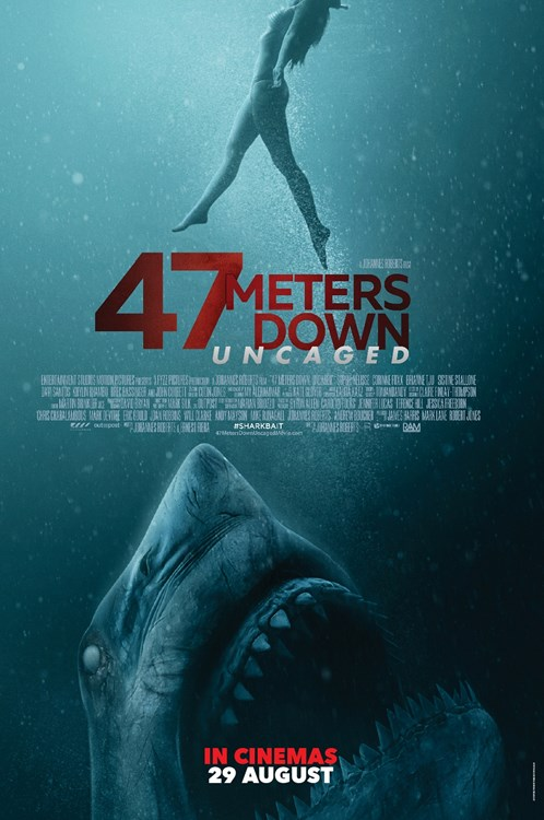 Review Filem 47 Meters Down Uncaged