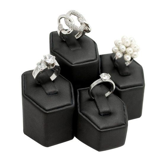 #201 Ring Pedestals Display Set