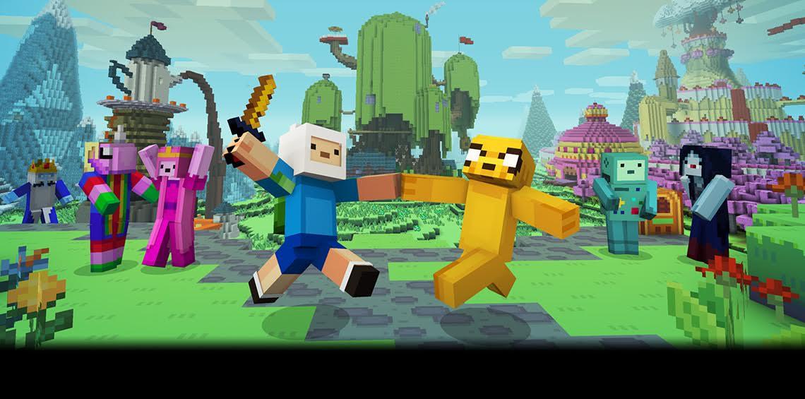 Hora de aventuras invade Minecraft en su nuevo pack