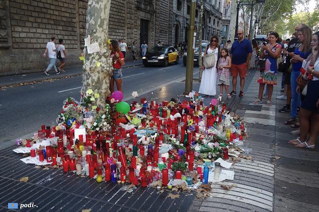 Atentado del 17 de agosto de 2017 - las ramblas de barcelona