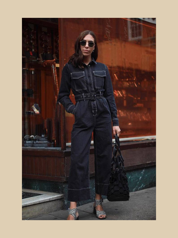 topshop, boilersuit, contrast seam