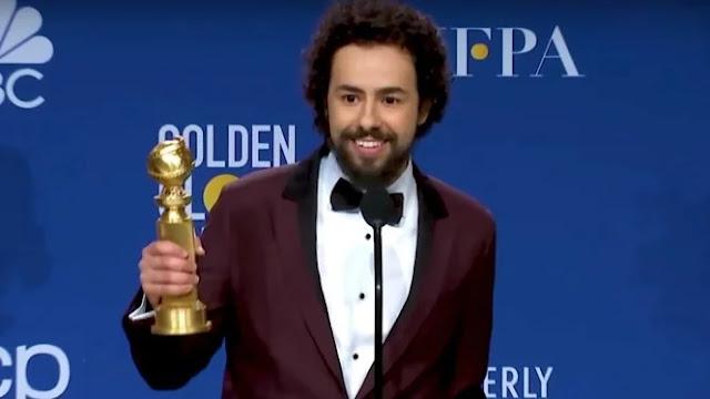 Ucap Allahu Akbar di Panggung Golden Globes, Ramy Youssef Sindir Host?