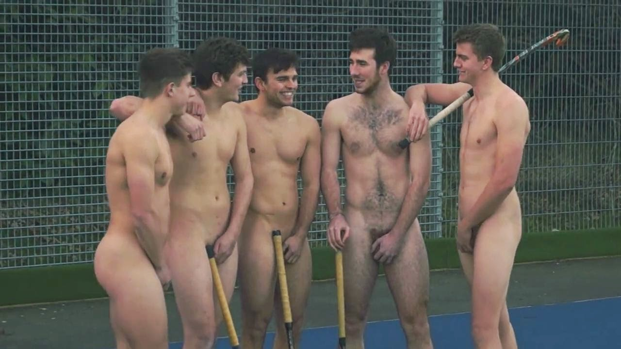 University Field Hockey Team Strips Naked To Fight Homophobia In Sport