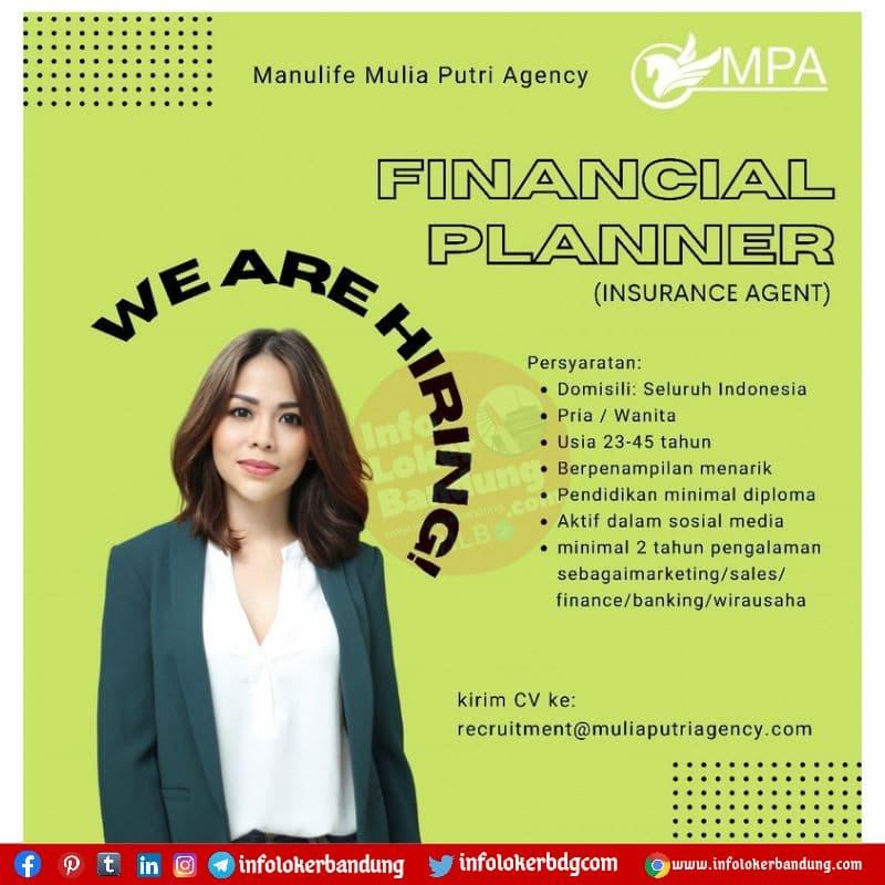 Lowongan Kerja Manulife Mulia Putri Agency Bandung Agustus 2021