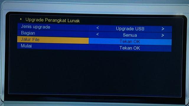 Upgrade USB Nex Parabola Merah