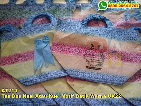Harga Tas Dus Nasi Atau Kue Motif Batik Warna UK22